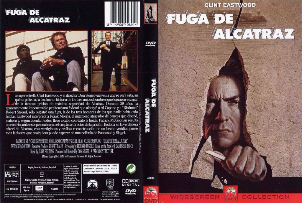 Películas de fugas:  La Fuga de Alcatraz