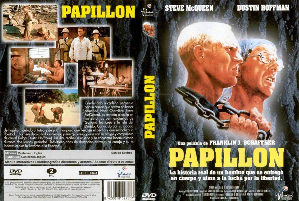Películas de fugas: Papillon